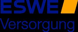 Logo der ESWE Versorgung AG — ESWE gefolgt von Versorgung darunter